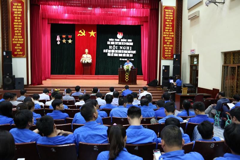 Tháng Thanh niên năm 2018: ĐTN Than Hà Tu đảm nhận trên 20 công trình việc khó