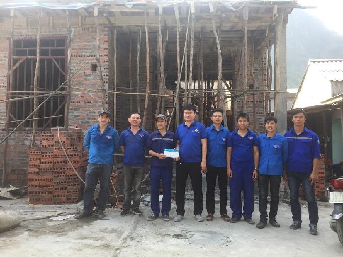Đoàn TN Than Hà Tu : Hỗ trợ đoàn viên có hoàn cảnh khó khăn