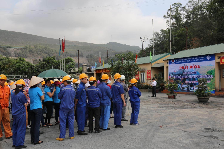 Lễ phát động Tháng công nhân, Tháng hành động về AT-VSLĐ năm 2018