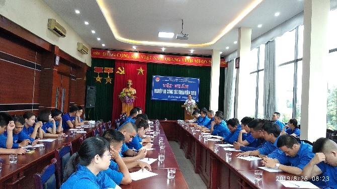 Tâp huấn kỹ năng nghiệp vụ, công tác thanh niên cho các cán bộ Đoàn